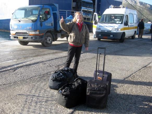 Ankunft-Leros