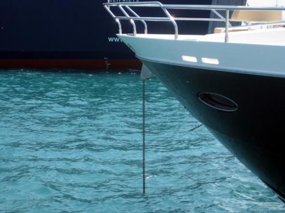 Kette-Motorboot