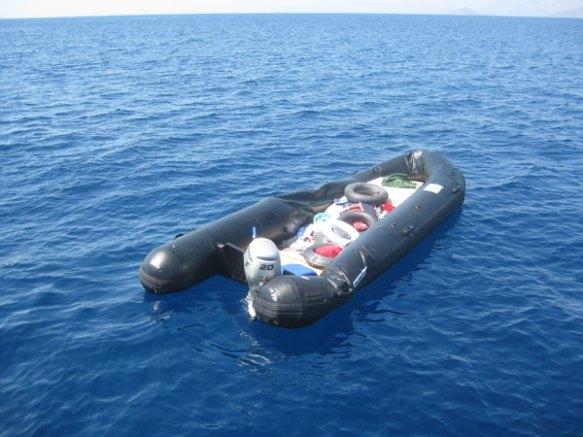 Schlauchboot-naeher