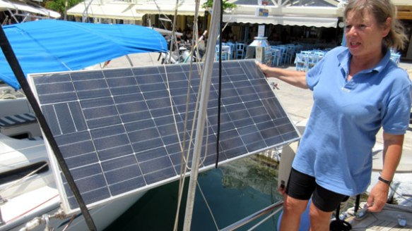 Solarpanel-ganz